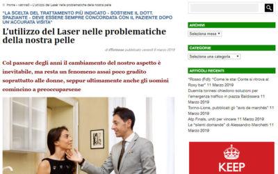L'utilizzo del Laser nelle problematiche della nostra pelle
